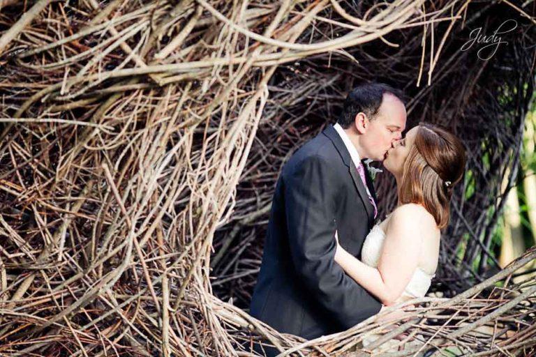 LA Arboretum Wedding Photography | Megan & Scott