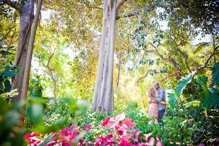 Huntington Library Engagement Photography | Micha & Darlington
