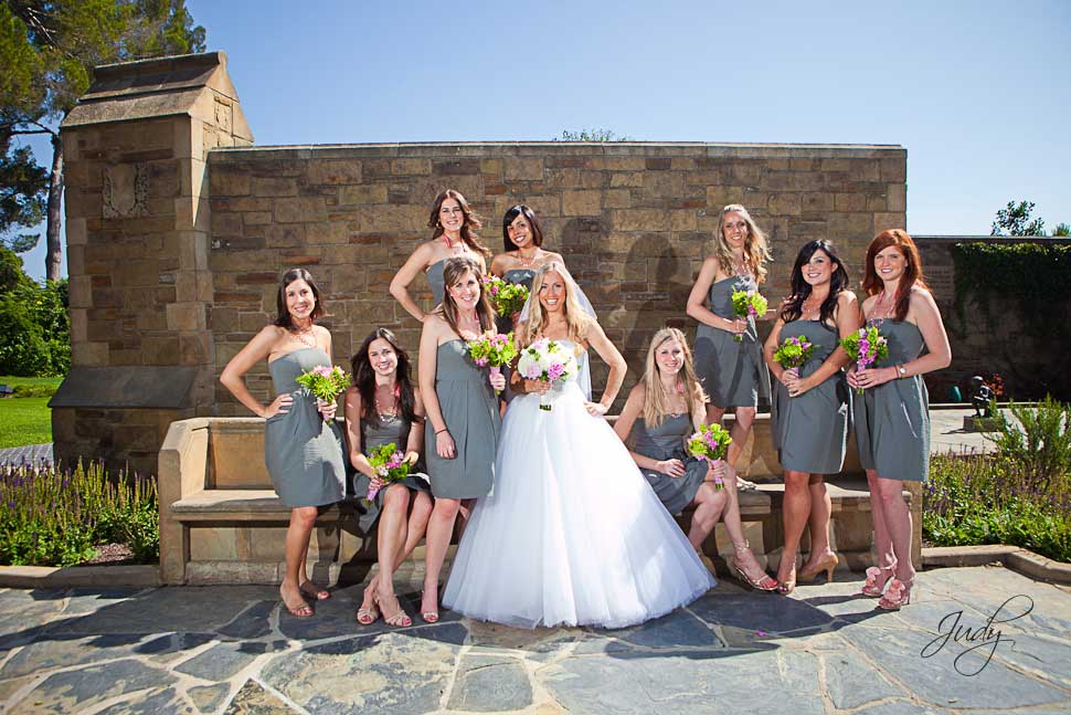 Forest Lawn Wedding Party Photos