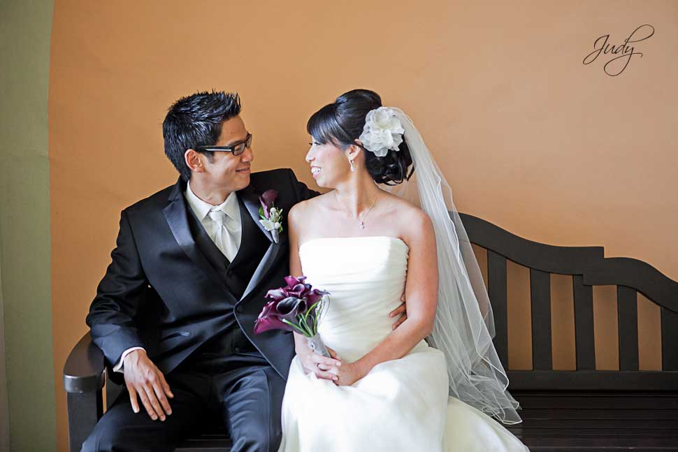 Huntington Hyatt Wedding Photos