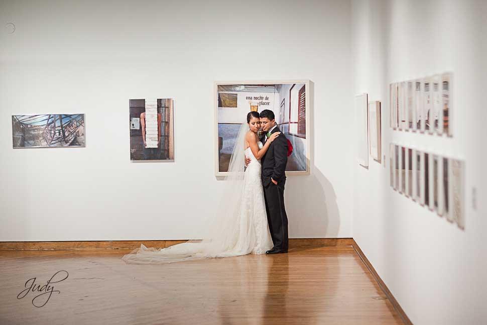 Museum of Latin American Art Wedding Photography | Amber & Rick