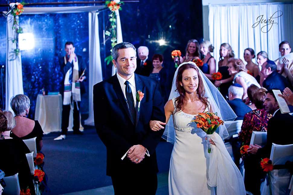 Aquarium of the Pacific Wedding Ceremony