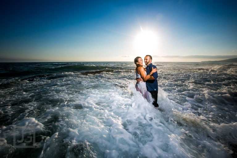 Downtown Laguna Beach Engagement Photography | Aurea + Alexis
