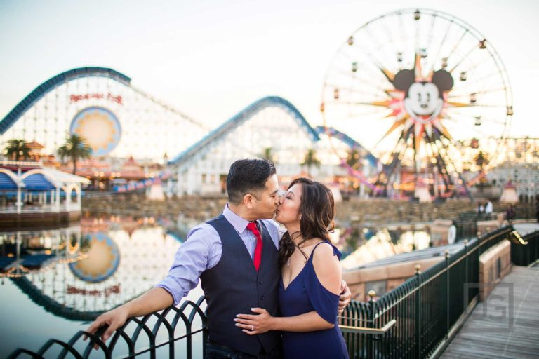 Disneyland Engagement Photography, California Adventures