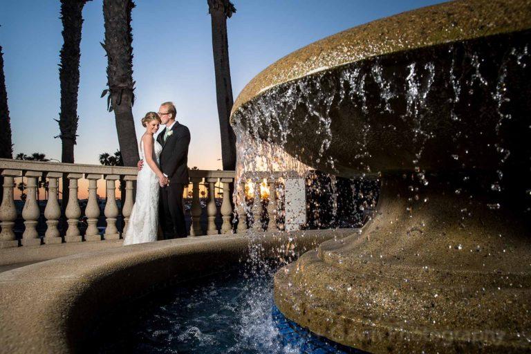 Hilton Waterfront Wedding Photography Huntington Beach | Courtney+Paul