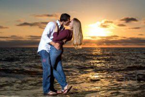 San Diego Balboa Park + Sunset Cliffs Engagement Photography | Cameron + Whitman