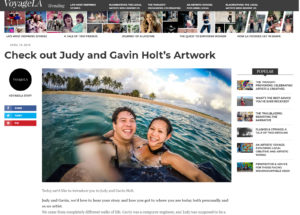 Featured in VoyageLA | Santa Monica Engagement Photography