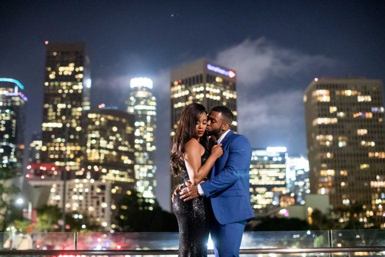Downtown LA Engagement Photography