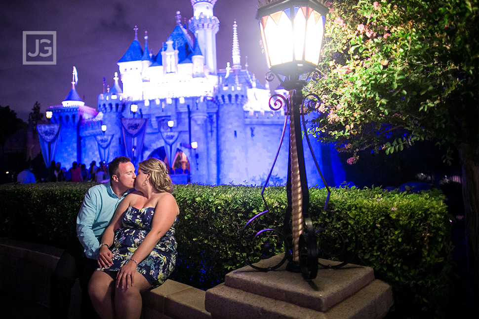 Disneyland Engagement Photography