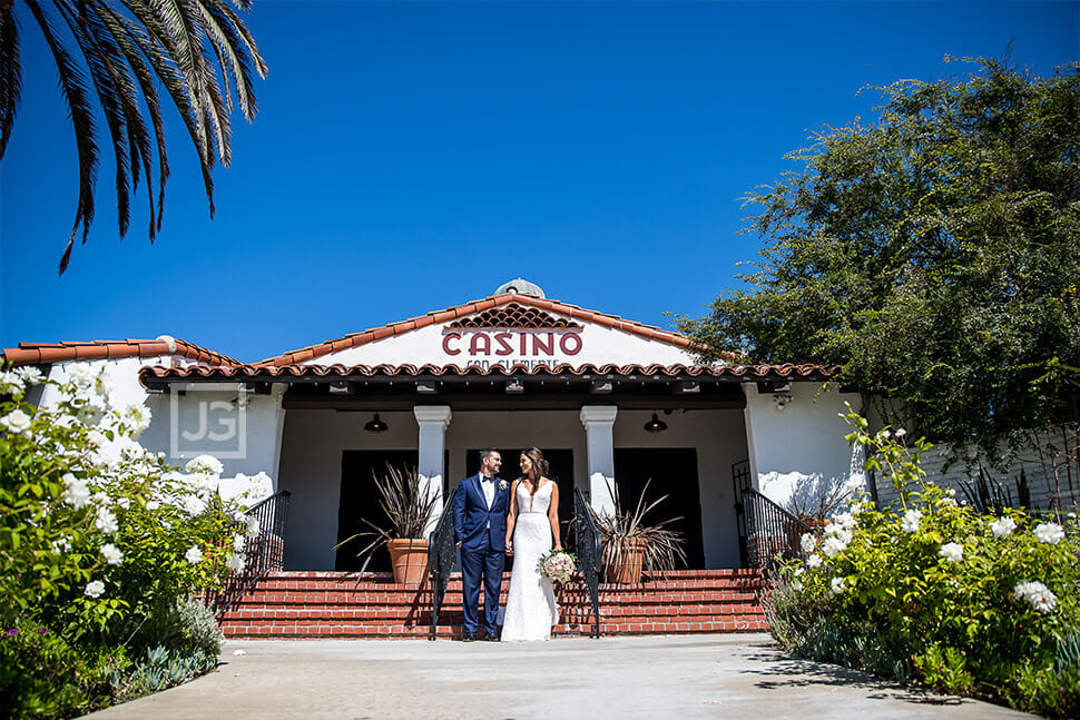 Casino San Clemente Wedding Photo