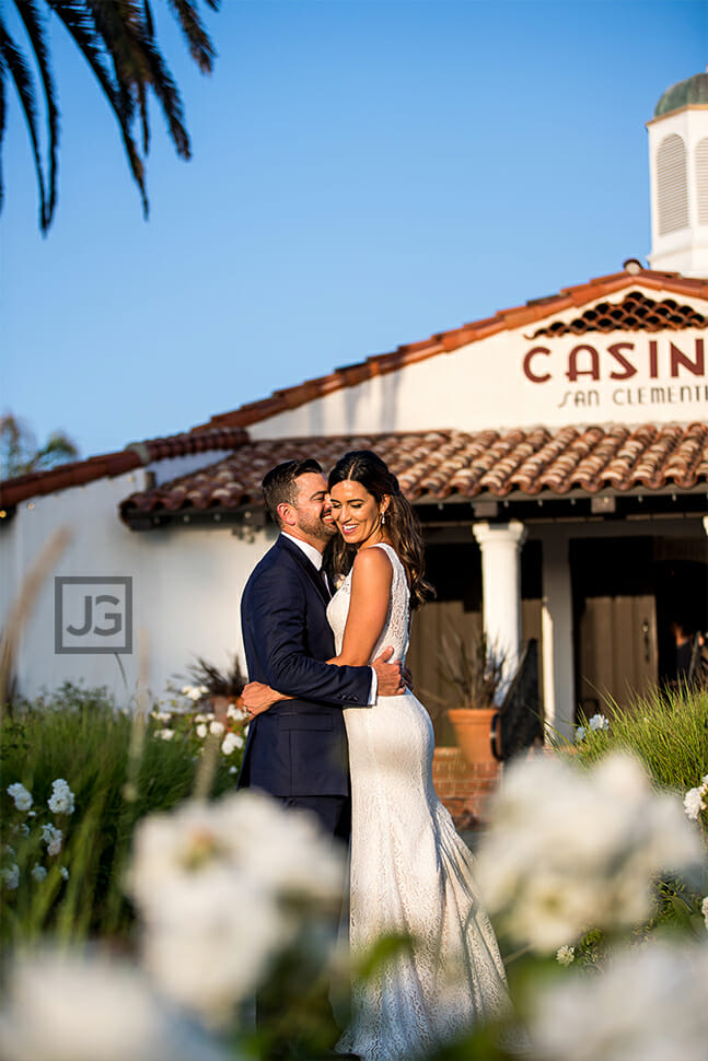 Casino San Clemente Wedding Portrait