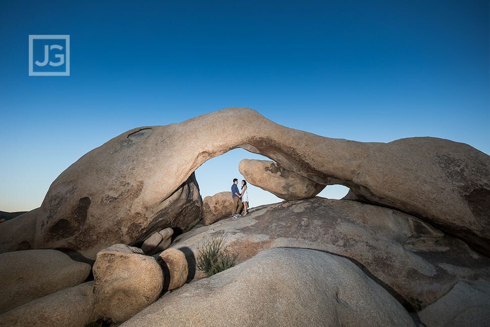 Rock Formation in Joshua Tree