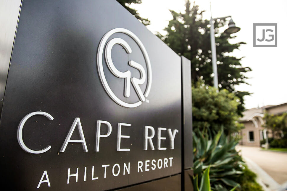 Front Sign of the Cape Rey