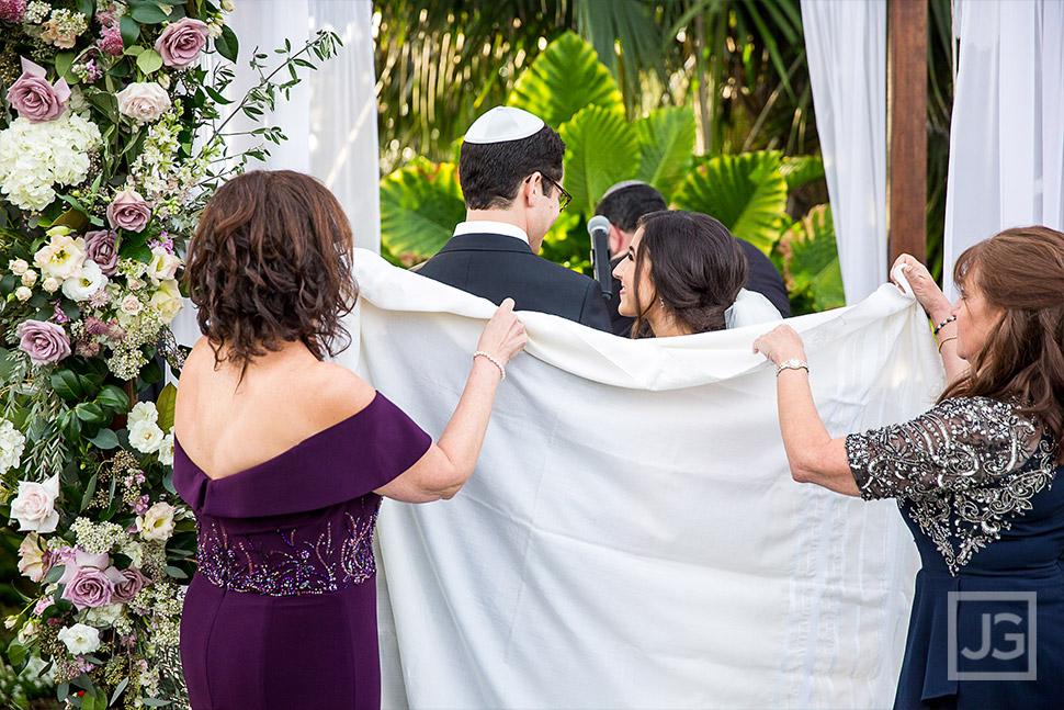 Tallit or fringed prayer shawl