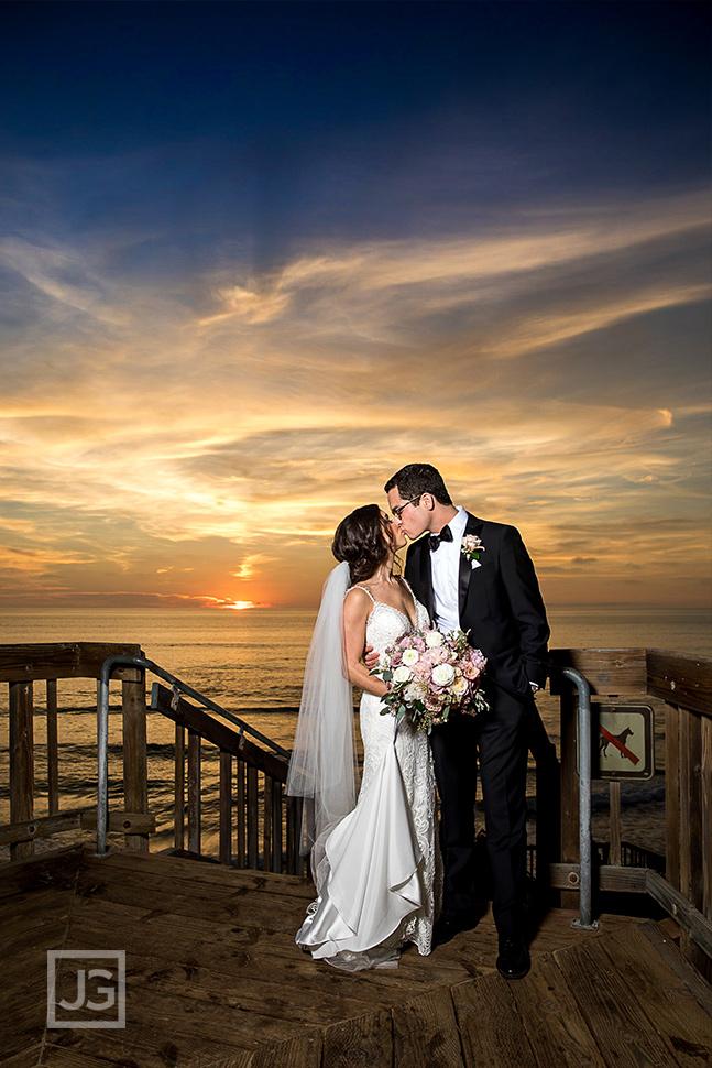 Cape Rey Wedding Photo of the Sunset