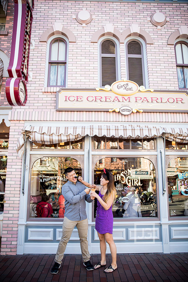 Gibson Girl Ice Cream Parlor Disneyland