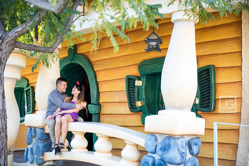 Disneyland Engagement Photography