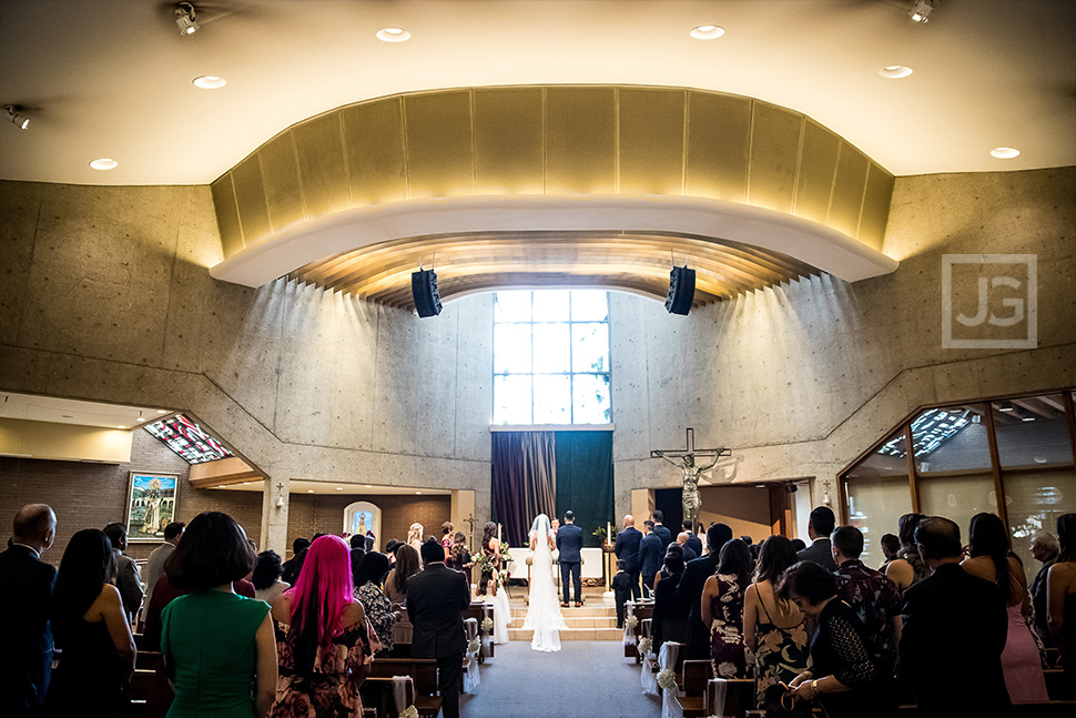Saint Martin Catholic Church Wedding Ceremony