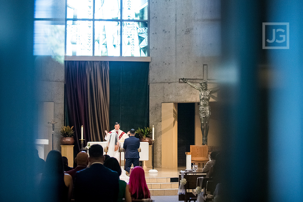 St. Martin Catholic Church Wedding Ceremony