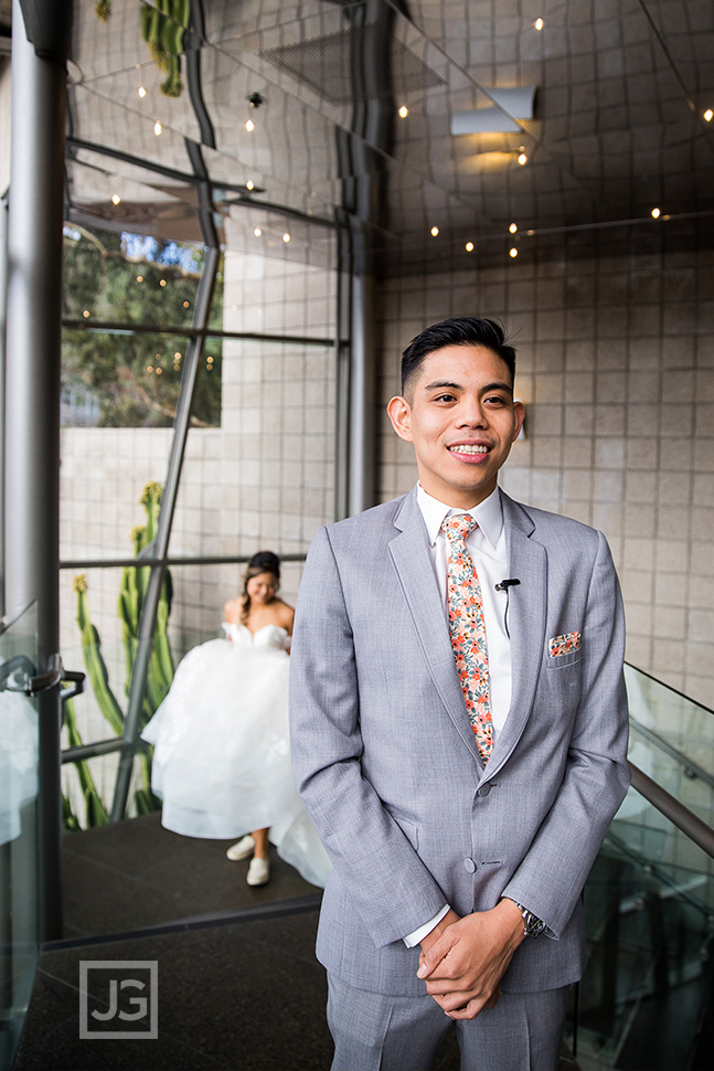 Seven Degrees Wedding First Look
