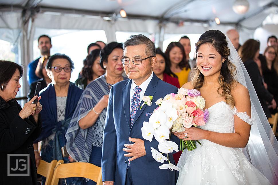 Seven Degrees Wedding Ceremony