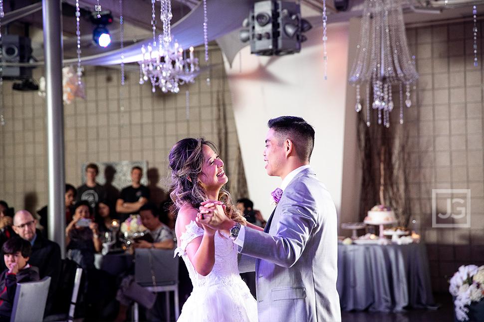 Seven Degrees Wedding Reception First Dance