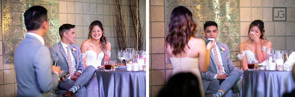 Seven Degrees Wedding Reception Speeches
