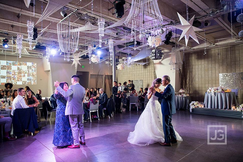 Seven Degrees Wedding Reception Father Mother Dances