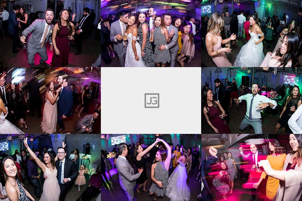 Seven Degrees Wedding Reception Dancing