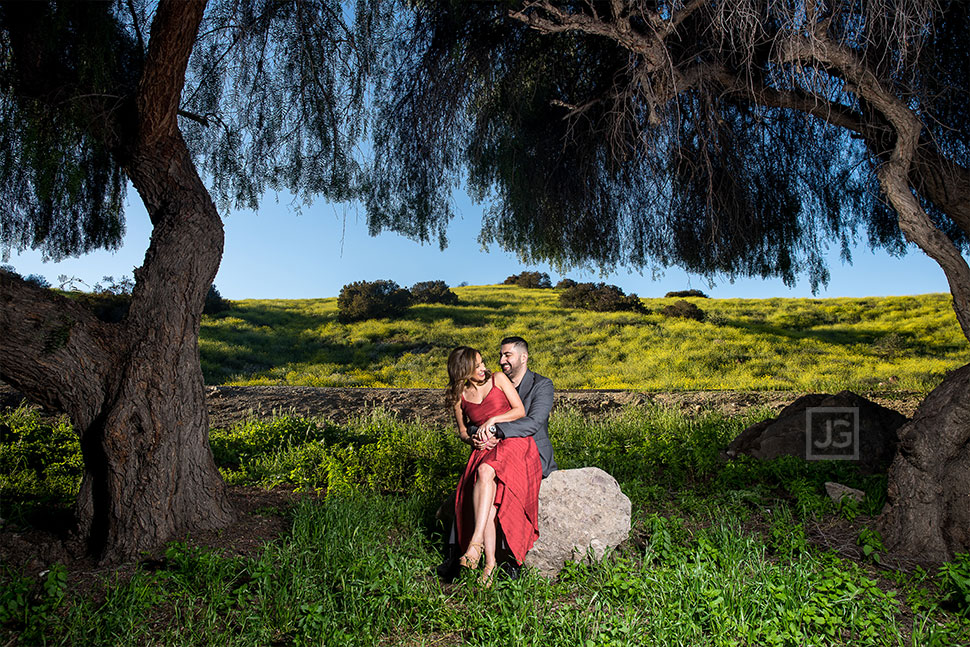 San Dimas Engagement Photos