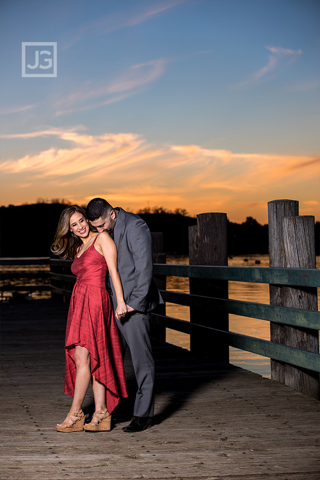 San Dimas Engagement Photos Sunset