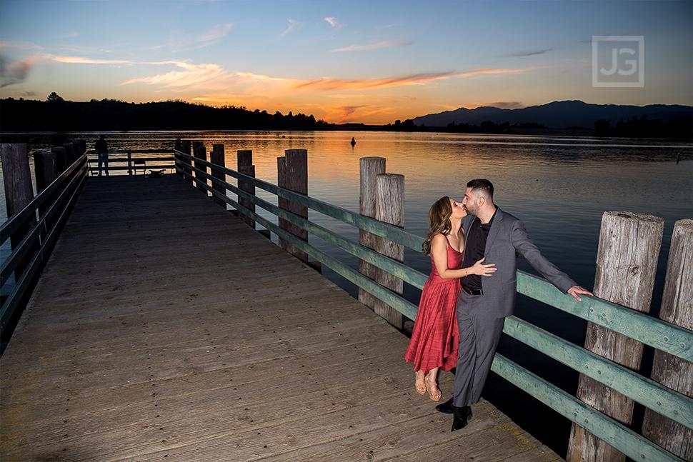 Bonelli Park Engagement Photos Sunset