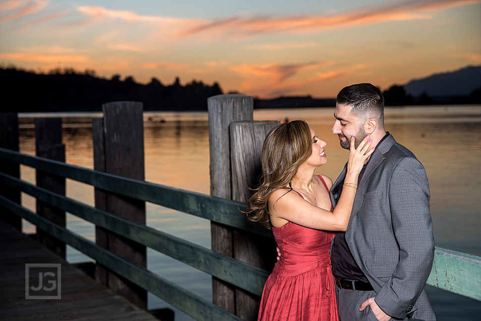 Bonelli Park Engagement Photos Sunset