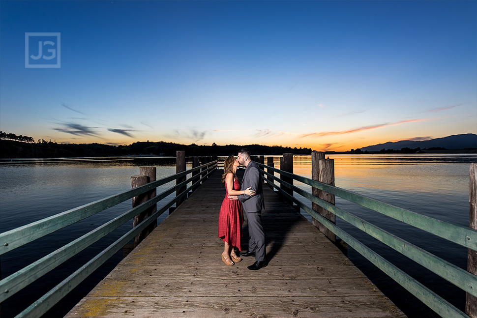 Bonelli Park Engagement Photos Pier