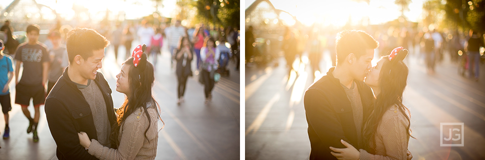 Sunset photos at California Adventures