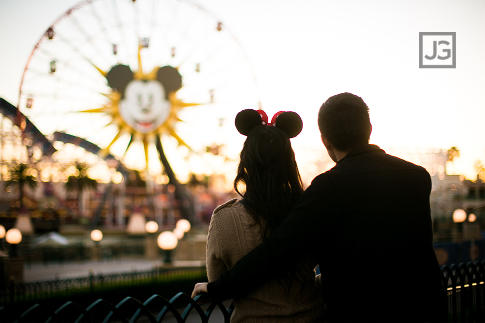 Disneyland Engagement Photos