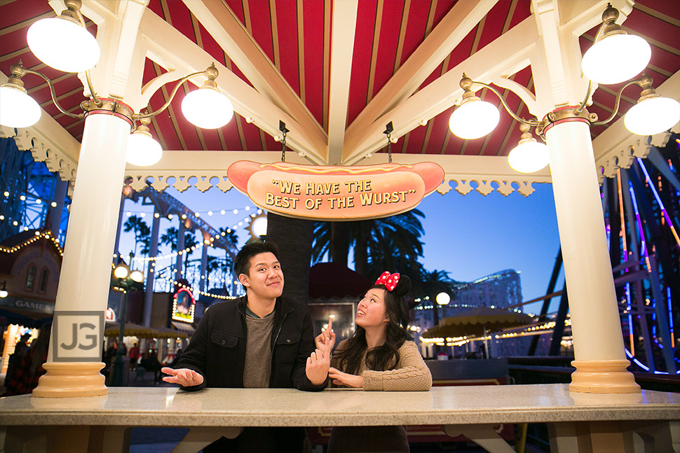California Adventures Engagement Photos