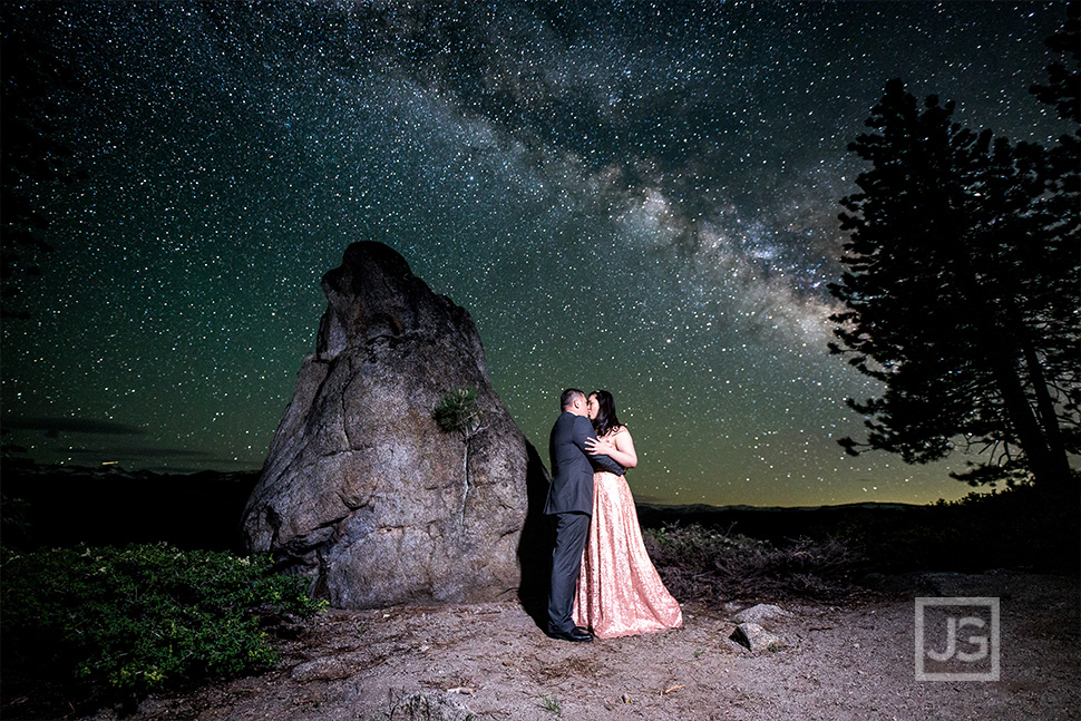 Engagement Photos Milky Way