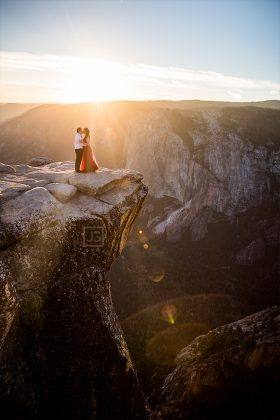 Yosemite Engagement Photography