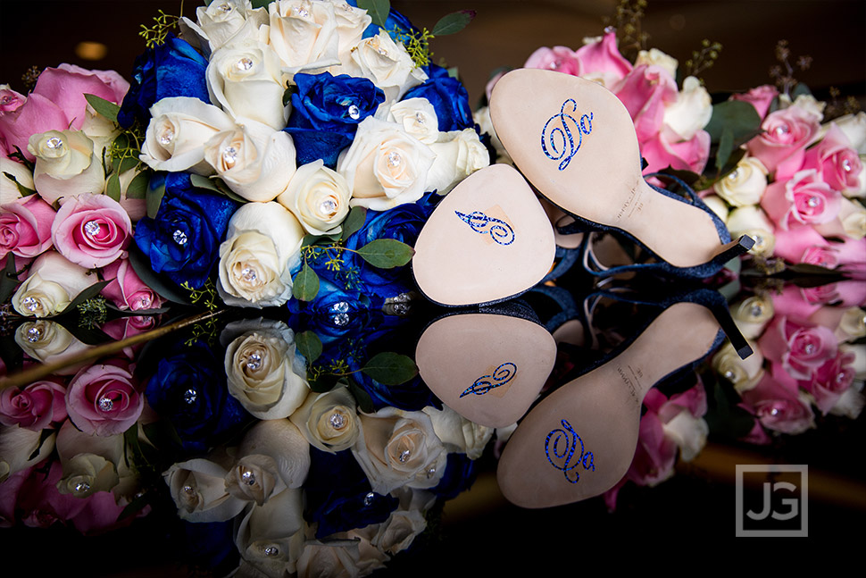 Marina Del Rey Mariott Wedding Preparation Details