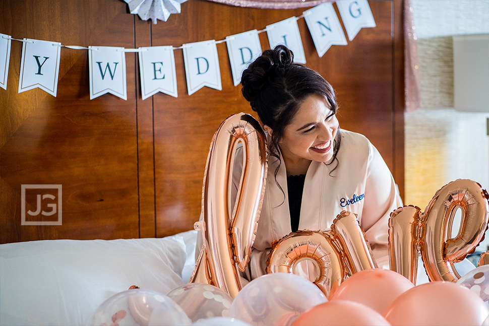 Marina Del Rey Mariott Wedding Preparation