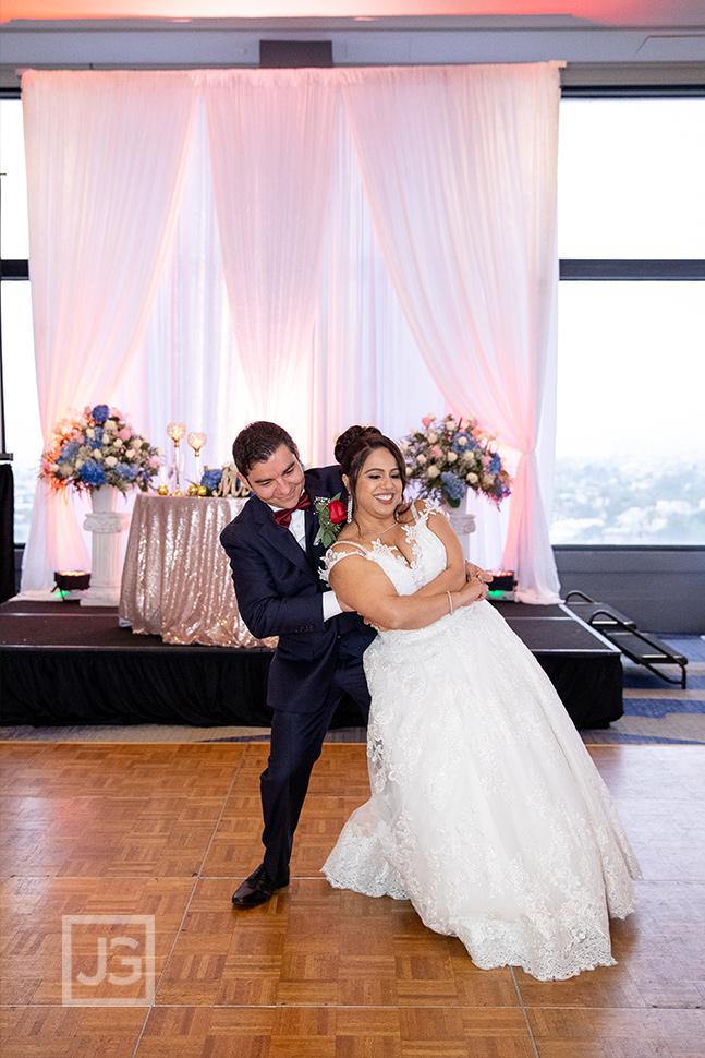 Marina Del Rey Mariott Wedding Reception First Dance