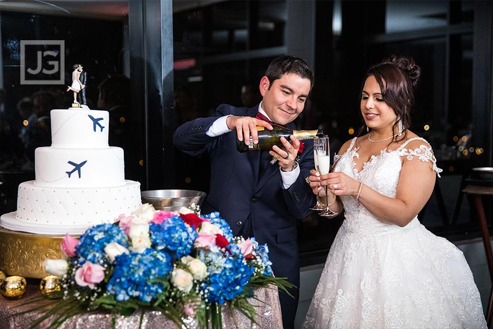 Marina Del Rey Mariott Wedding Reception