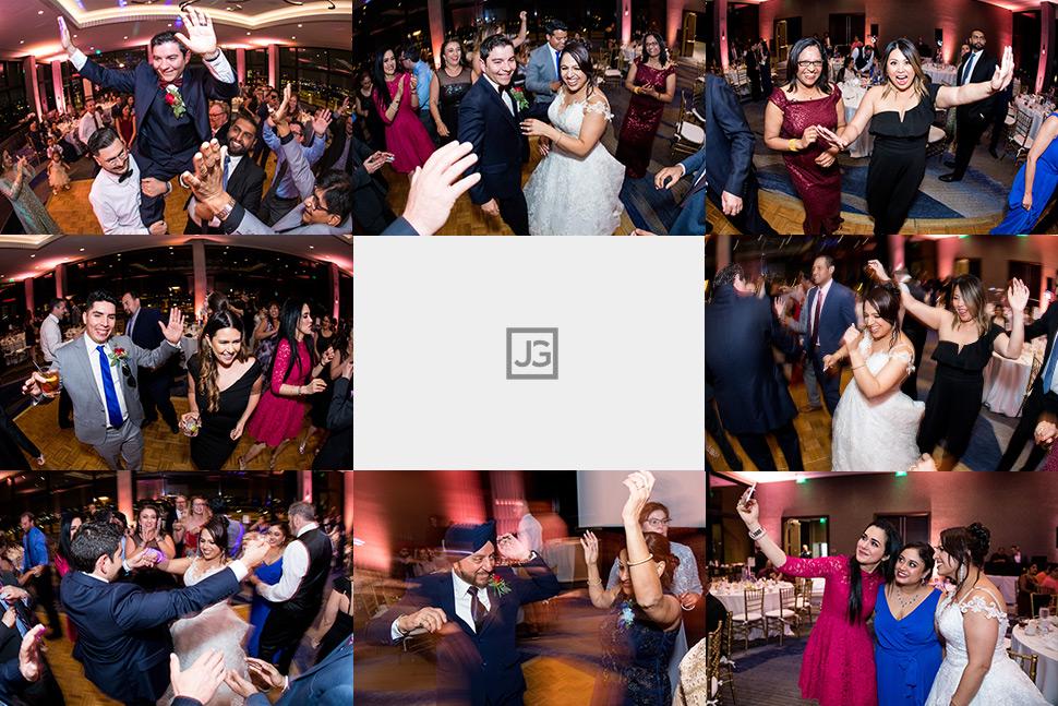Marina Del Rey Mariott Wedding Reception Dancing