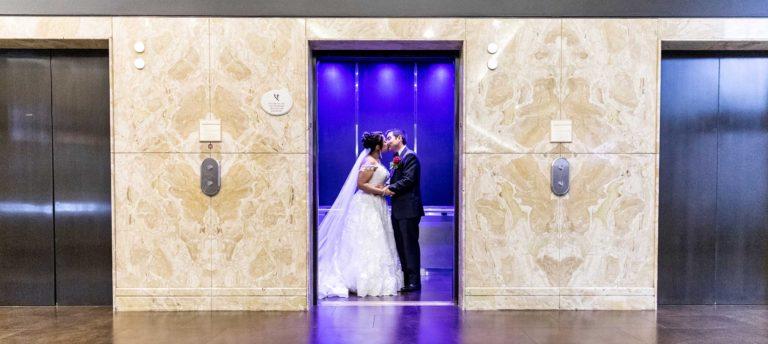 Marina Del Rey Marriott Wedding Photography | Eve + Alex