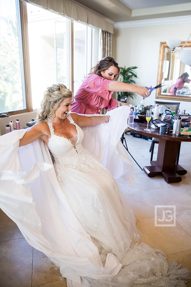 Pismo Beach Wedding Dress