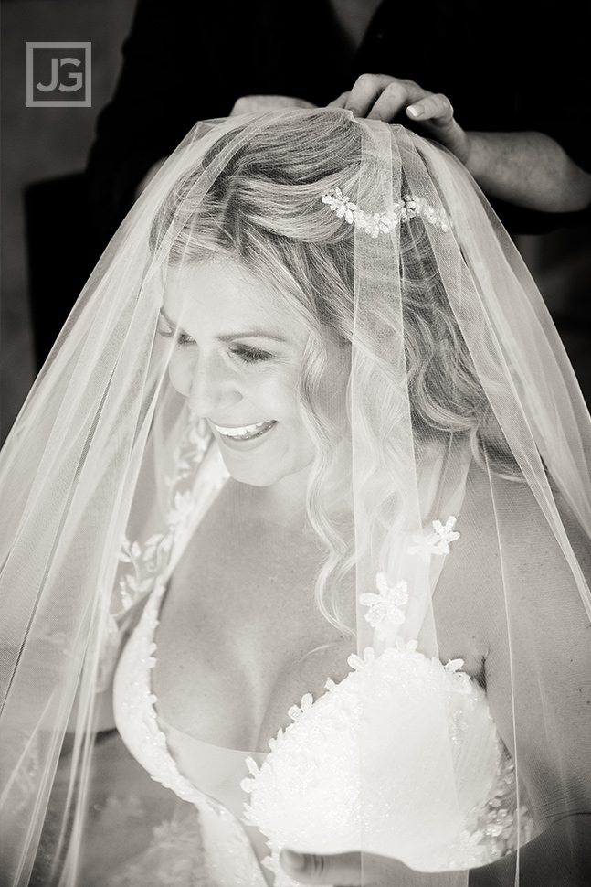 Pismo Beach Wedding Bride