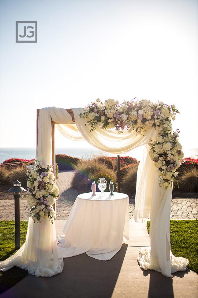 Dolphin Bay Resort Wedding Ceremony Arch