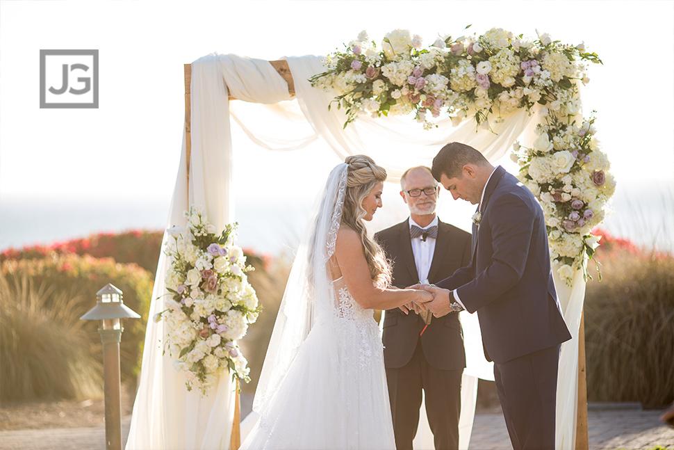 Pismo Beach Wedding Ceremony