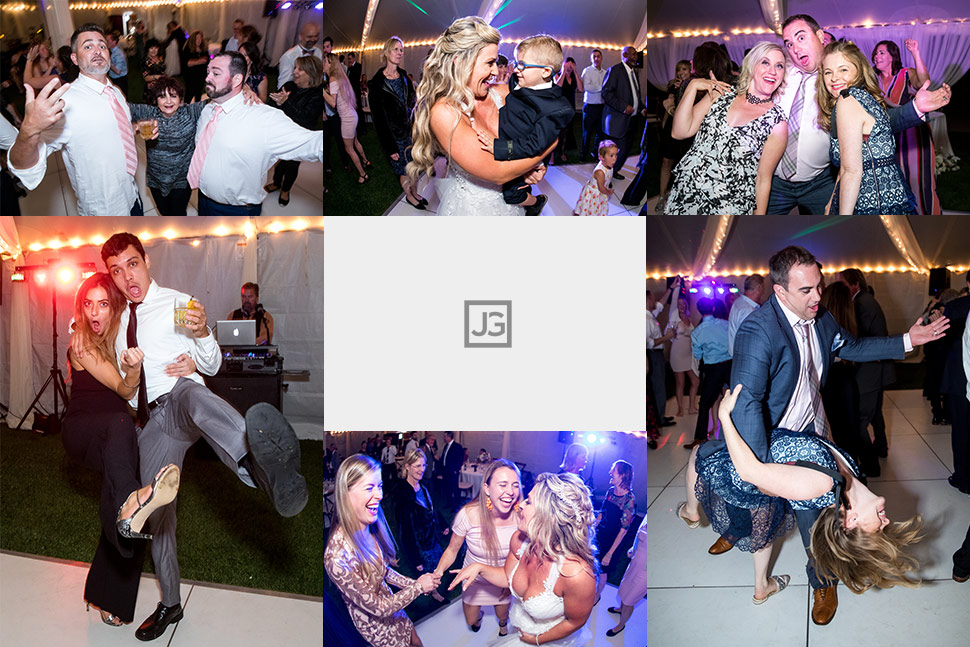 Dolphin Bay Resort Wedding Reception Dancing